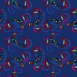 Ornamento colorido do teste padrão abstrato sem emenda Foto de Stock Royalty Free