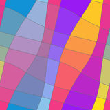 Ornamento colorido geométrico abstracto inconsútil stock de ilustración