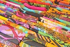 Ornamento coloridos brilhantes da Índia das telas e desenhos orientais Ele Foto de Stock Royalty Free