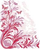 Ornamento com coração-formas Imagem de Stock
