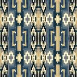Ornamento con un modello di ripetizione delle forme geometriche Fotografia Stock Libera da Diritti