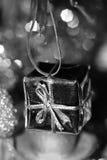 Ornamento. Contenitore di regalo Fotografie Stock