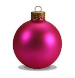Ornamento cor-de-rosa com trajeto de grampeamento imagens de stock royalty free