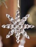 Ornamento cristalino Fotos de archivo libres de regalías