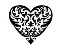 Ornamento d'annata di amore illustrazione vettoriale