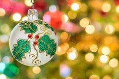 Ornamento d'annata di Natale Fotografie Stock