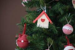 Ornamento da árvore de Natal imagem de stock