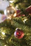 Ornamento da árvore de Natal. fotografia de stock royalty free