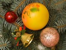Ornamento da árvore de Natal Fotografia de Stock