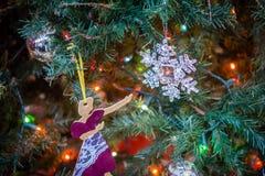 Ornamento da árvore de Natal Foto de Stock Royalty Free