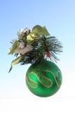 Ornamento da árvore de Natal fotos de stock