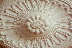 Ornamento da argila para o interior fotografia de stock