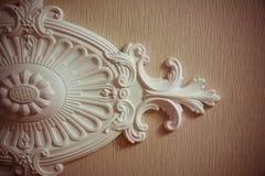 Ornamento da argila para o interior fotos de stock royalty free