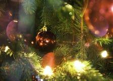 Ornamento da bola do Natal fotos de stock