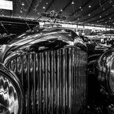 Ornamento da capa de um carro luxuoso Bentley 4-Litre, 1931 Fotografia de Stock Royalty Free