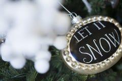 Ornamento da decoração do Natal imagem de stock