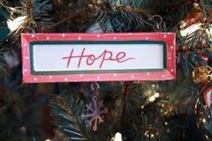 Ornamento da esperança. Imagens de Stock