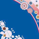 Ornamento da flor Ilustração do Vetor