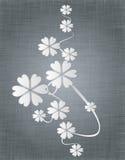 Ornamento da flor Foto de Stock Royalty Free