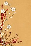 Ornamento da flor imagens de stock