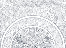 Ornamento da mandala Fotografia de Stock Royalty Free