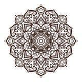 Ornamento da mandala do vetor Foto de Stock Royalty Free