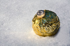 Ornamento da neve Imagem de Stock