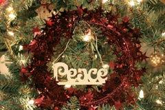 Ornamento da paz. Imagem de Stock