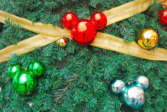 Ornamento dados forma do rato de Mickey como Chistmas Decorati Foto de Stock