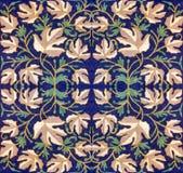 Ornamento dalle foglie Fotografia Stock