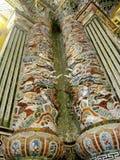 Ornamento das colunas do mosaico Foto de Stock