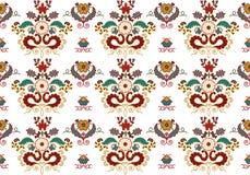 Ornamento de Ásia. Fotografia de Stock