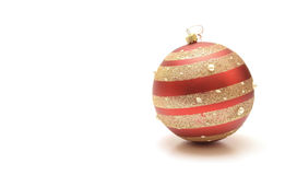 Ornamento de Christmass foto de stock royalty free