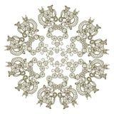 Ornamento de Circe Imagen de archivo libre de regalías