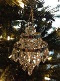 Ornamento de cristal do candelabro Fotografia de Stock