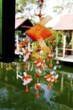 Ornamento de Fishshaped fotografia de stock