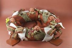 Ornamento de Garland Christmas Imágenes de archivo libres de regalías