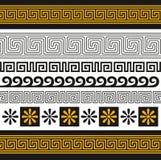 Ornamento de Grecia stock de ilustración