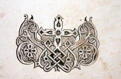 Ornamento de la antigüedad Fotografía de archivo libre de regalías