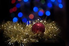 Ornamento de la bola de la Navidad Imagen de archivo