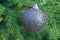 Ornamento de la decoración de la bola de la Navidad imagen de archivo libre de regalías