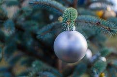 Ornamento de la decoración de la Navidad fotografía de archivo
