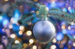 Ornamento de la decoración de la Navidad imagenes de archivo