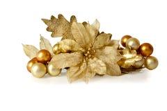 Ornamento de la decoración del árbol de navidad   magnolia Imagenes de archivo