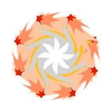 Ornamento de la estrella Imagenes de archivo