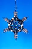 Ornamento de la estrella Imagen de archivo libre de regalías