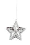 Ornamento de la estrella de la Navidad Imágenes de archivo libres de regalías