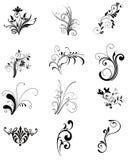 Ornamento de la flor stock de ilustración