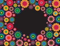 Ornamento de la flor Foto de archivo libre de regalías