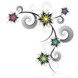 Ornamento de la flor imágenes de archivo libres de regalías